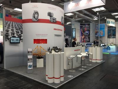 Hannover Messe 2018 - Halle 22, Stand A50 - Ansicht 1