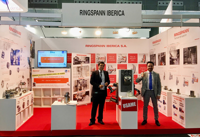 Ringspann showed all the solutions of the portfolio for the machine tools industry in this importante event placed in Bilbao.