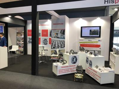 The most important Food & packaging event in Spain placed in Barcelona where Ringspann showed the hole range of pneumatic brake calipers, freewheels and cone clamping elements.